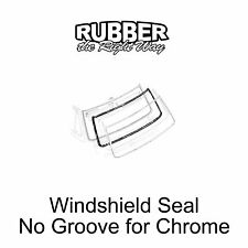 1968 1969 1970 1971 1972 1973 1974 Ford Econoline Van Windshield Seal NO Chrome