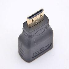 Mini HDMI Adapter HDMI A Buchse auf Mini HDMI C Stecker High Speed mit Ethernet