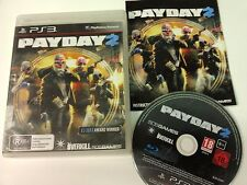 PayDay 2 PS3 Playstation 3