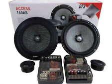 "Focal 165AS 6.5"" 16.5cm 2 Way Car Component speaker set inc grilles"