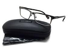 Dolce & Gabbana D&G Eyeglasses DD5115 090 Matte Gunmetal, Size 52-17-135