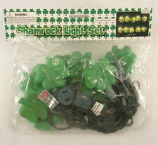 Shamrock Light Set Oriental Trading Company Po# 627633 Green Irish Theme Clovers