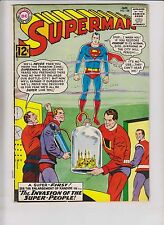 Superman #158 VG january 1963 - 1st appearance of flamebird & nightwing - kandor