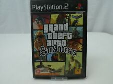 SONY PLAYSTATION 2 GRAND THEFT AUTO SAN ANDREAS COMPLETE GAME INSTRUCTIONS