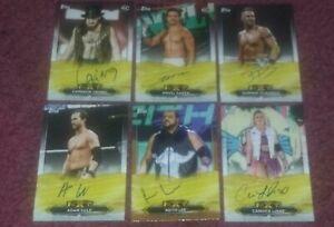 2020 TOPPS WWE NXT ON CARD ROOKIE AUTO LOT LeRAE GARZA LEE GRIMES COLE DIJAKOVIC