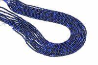 2mm Natural AA Lapis Lazuli Round Smooth Loose Spacer Gemstone Beads DIY Jewelry