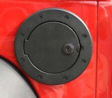 Rugged Ridge Fuel Door Cover Billet Style with Lock 07-17 Jeep Wrangler JK JKU