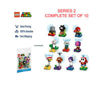 Lego Super Mario 71386 Character Packs Series 2 Complete Set of 10 Sealed Bags