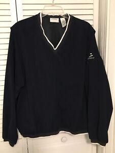Liz Golf by Liz Claiborne Women's (XL) Long Sleeves Pullover Jacket V neck