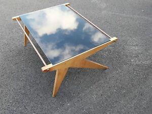 Table basse design Louis Paolozzi années 50 60 tavolo