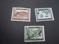 Austria #496-98 Mint Hinged  - WDWPhilatelic