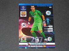 CLAUDIO BRAVO D. ROCK BARCELONE UEFA PANINI FOOTBALL CHAMPIONS LEAGUE 2014 2015
