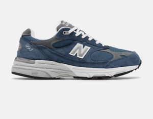 New Balance Men's Made in US 993 Vintage indigo with grey Free Shipping