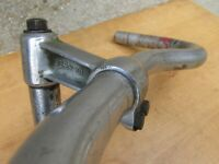 CENTRIX ANCIEN VINTAGE GUIDON PLAT VELO HANDLEBARS BICYCLE