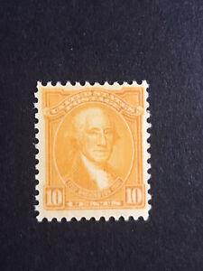 GandG US Stamps #715 Washington Bicentennial 10c MNH OG