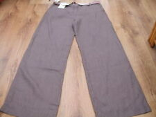 Boden Linen Other Casual Mid Rise Trousers for Women