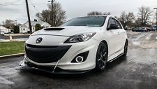 2010-2013 MazdaSpeed 3 (Gen 2) Front Lip Splitter w/Support Rods - Enforced Aero