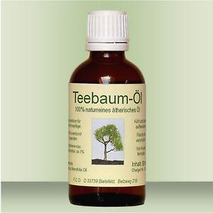Teebaumöl, 100 ml, 100% naturreines ätherisches Öl