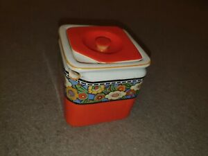 1920's The Cube Teapot Company TG Green Rare Pattern Vintage Collectable ArtDeco
