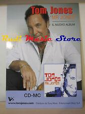 CARTONATO PROMO TOM JONES Mr. Jones  67 X 48 CM cd dvd vhs lp mc