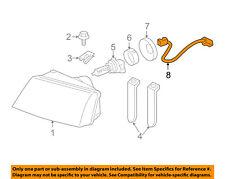 Mercury FORD OEM Headlight Head Light Lamp-Socket & Wire 3W3Z13076AA