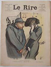 Le Rire #60 26 mars 1904 Hermann Paul, Roubille, Mirande, Léandre