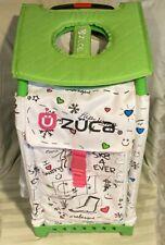 Zuca Ice Skating Bag Luggage Case illuminated flashing wheels
