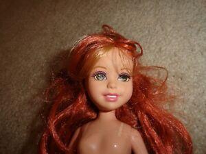 MATTEL STAR TEAM STACIE Red Hair Nude 2005