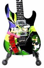 Miniature Guitar KIRK HAMMETT with free stand. DRACULA