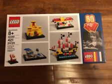 NEW LEGO 40290 60 Years of the Lego Brick Set 421pcs Rare