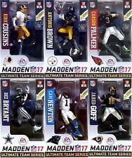 McFarlane Madden NFL 17 Ultimate Team Set of 6 Figures Goff Brown Bryant Newton+