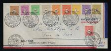 Timbres français oblitérés de 1941 à 1950 série