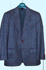 Americana Blazer de tweed azul Marks & Spencer, Nuevo, talla 36 UK (46 euro)