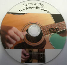 Learn how to play the Acoustic Guitar lessons on dvd tutorial teach
