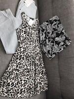 Bundle of 3 Summer Items Size 8 Per Una Trousers H&M Shorts H&M Sun Dress BNWT