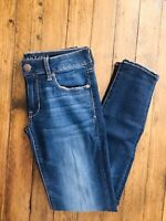 "American Eagle Outfitters Super Stretch Skinny Size 2 Regular 29"" Inseam"