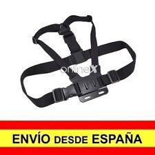 Arnés de Pecho para GoPro Correa Pechera Ajustable Pectoral Soporte Cámara a2988