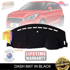 Dash Mat for MG MG3 Excite CORE Hatchback 5 Door 9/2016-2020 MY18 Black DM1544