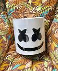 DJ Marshmello Plastic Helmet Headgear Music Festival Atmosphere Props 11.8\'\'