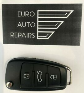 New Audi 3 Button Key Remote / Replacement Key Options