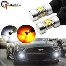 Switchback LED Kit For 2015-up Ford Mustang as Daytime Running Light/Turn Signal