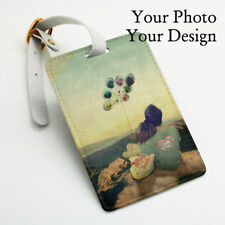 Personalized Custom made Luggage Tag, Wedding Favor Gift Tag, Your Photo Design