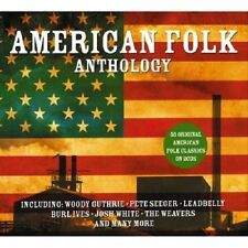 American Folk Anthology 2-CD NEW SEALED Pete Seeger/Burl Ives/Weavers/Leadbelly+
