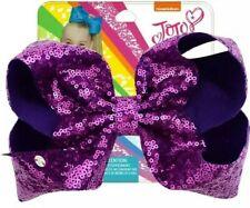 Jojo Siwa Large Bow Purple Sequin