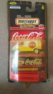 Matchbox Coca Cola Collectible 1955 Ford Transit Van Diecast Model Delivery Van