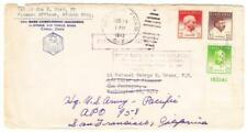 Panama CANAL ZONE-Sc#136,#137,#140a(plate#)-FIRST DAY-ALBROOK FIELD