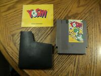 Yoshi ( Nintendo, 1992) Cartridge, Manual & Sleeve