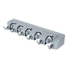 6er Set Gerätehalter Geräteleiste Haken Besenhalter Werkzeughalter Gartengeräte