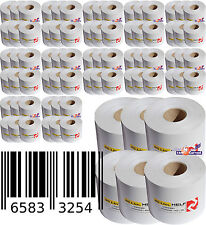 Thermopaper 96x Label Rolls for Adhesive Labels Thermorollen Barcode Blaster