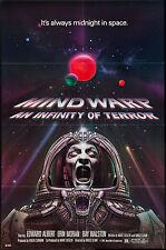 GALAXY OF TERROR/MINDWARP original rare 1981 One Sheet movie poster 27x41